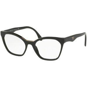 Prada Cat Eye Eyeglasses Women's Black w/D…